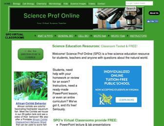 scienceprofonline.com screenshot
