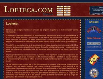 loeteca.com screenshot