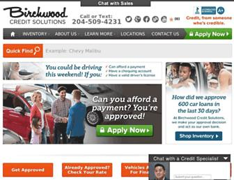birchwoodcredit.com screenshot