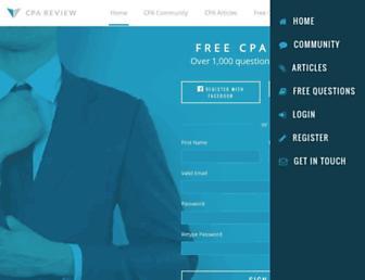 cpareviewforfree.com screenshot