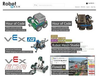 robotmesh.com screenshot