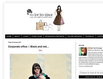 misstoptenimage.blogspot.com screenshot