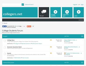 collegers.net screenshot