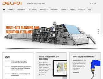 delfoi.com screenshot