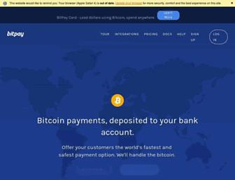 Thumbshot of Bitpay.com