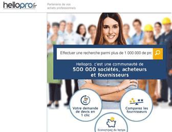 hellopro.fr screenshot
