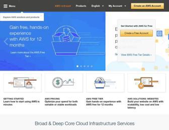 Thumbshot of Amazonwebservices.com