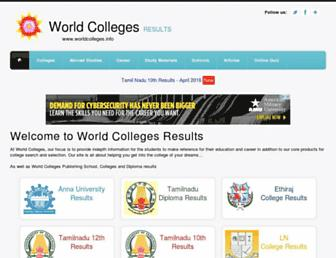 results.worldcolleges.info screenshot