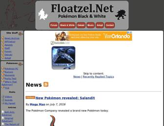 floatzel.net screenshot