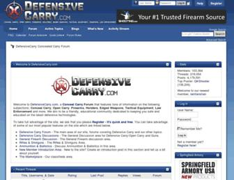 Thumbshot of Defensivecarry.com