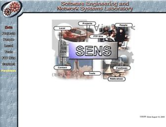 sens.cse.msu.edu screenshot