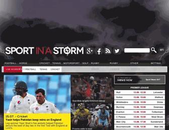 Thumbshot of Sportinastorm.com
