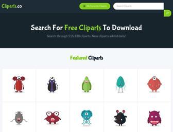 cliparts.co screenshot