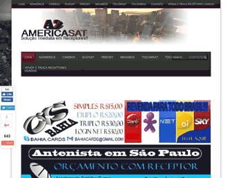 azamericasat.net screenshot