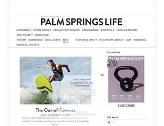 Thumbshot of Palmspringslife.com
