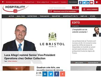 hospitality-on.com screenshot