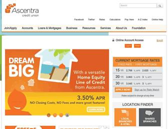 ascentra.org screenshot