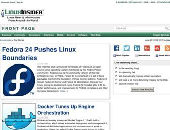 linuxinsider.com screenshot