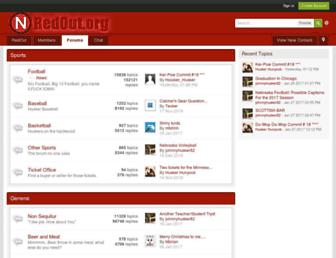 Main page screenshot of redout.org