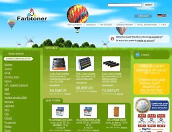 farbtoner.com screenshot