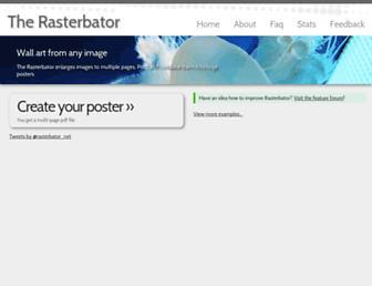 Thumbshot of Rasterbator.net