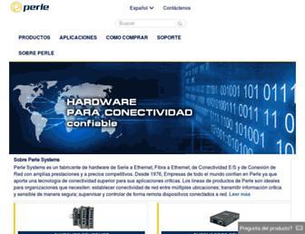 perlesystems.es screenshot