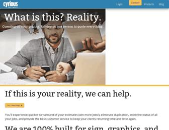 cyrious.com screenshot