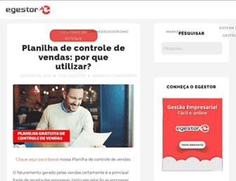 blog.egestor.com.br screenshot