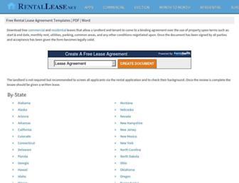 Thumbshot of Rentallease.net