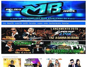 melodybrazil.com screenshot