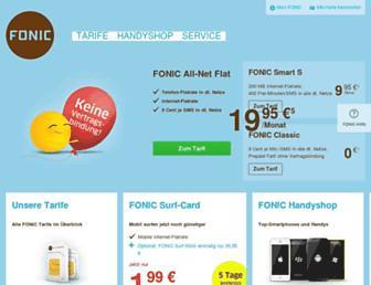 Thumbshot of Fonic.de