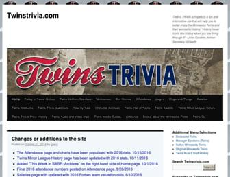 twinstrivia.com screenshot