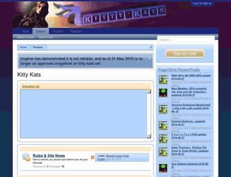Thumbshot of Kitty-kats.net