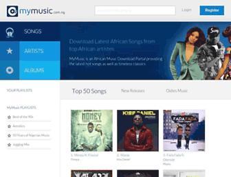 mymusic.com.ng screenshot