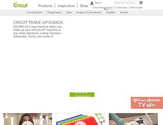 Thumbshot of Cricut.com