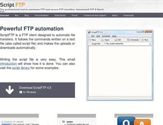 scriptftp.com screenshot