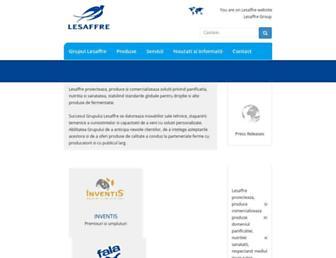 lesaffre.ro screenshot