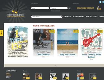 soundike.com screenshot