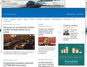 eltiempo.com screenshot