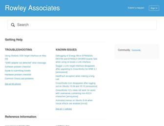 rowley.zendesk.com screenshot
