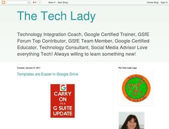 thetechlady-km.blogspot.com screenshot