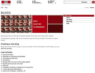 blogs.epfl.ch screenshot