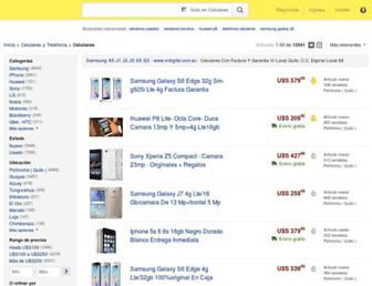 celulares.mercadolibre.com.ec screenshot