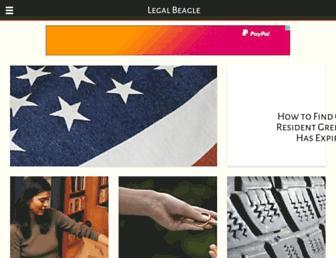 legalbeagle.com screenshot