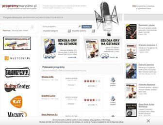 programymuzyczne.pl screenshot