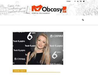 obcasy.pl screenshot