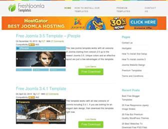 Thumbshot of Freshjoomlatemplates.com