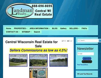 Main page screenshot of thelandman.net