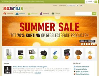 azarius.nl screenshot