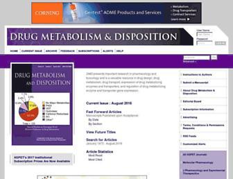 dmd.aspetjournals.org screenshot